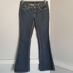 Size 5 Earl Jeans flare bell bottom denim pants